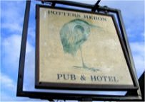 Potters Heron Birthday Venue Sign